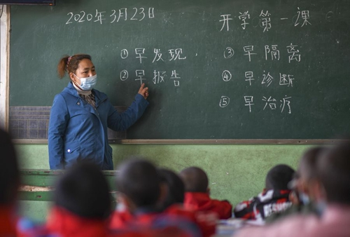 Xinjiang Reopens All Primary And High Schools