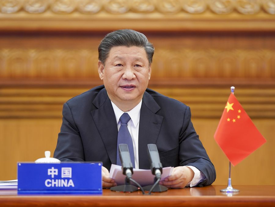 Xi Calls for All-Out Global War Against COVID-19 at Extraord